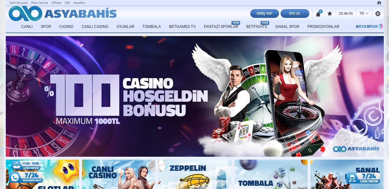 Asyabahis Casino Oyunları