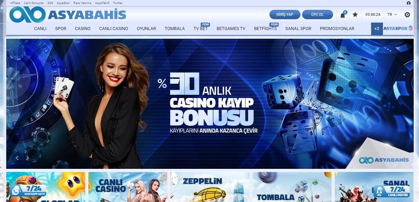 Asyabahis Sitesi Casino Oyunları