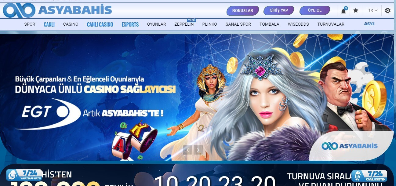 Asyabahis Casino Oyunları Nelerdir